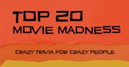 Top 20 Movie Madness Card